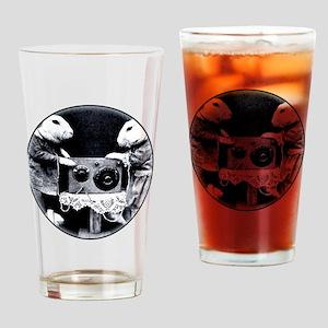 HappyNSAFriends Drinking Glass
