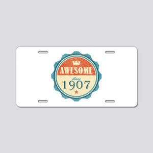 Awesome Since 1907 Aluminum License Plate