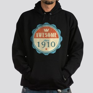 Awesome Since 1910 Dark Hoodie