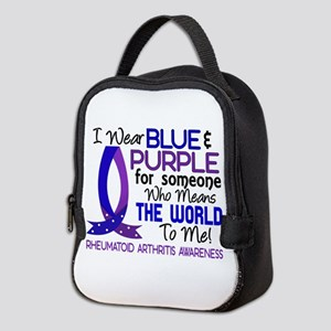 RA Means World to Me 1 Neoprene Lunch Bag