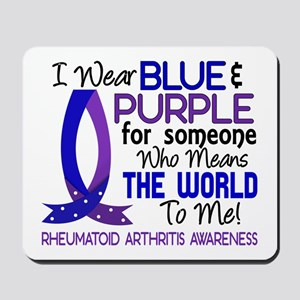 RA Means World to Me 1 Mousepad