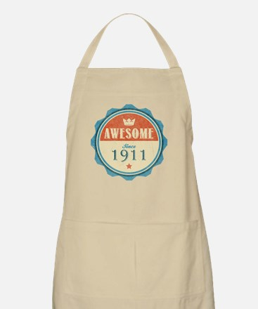 Awesome Since 1911 Apron