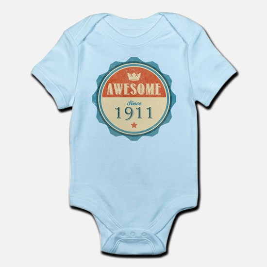 Awesome Since 1911 Infant Bodysuit