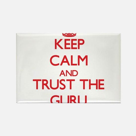 Keep Calm and Trust the Guru Magnets