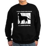 A Better English Setter Rescue Sweatshirt (dark)