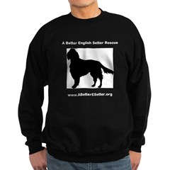 A Better English Setter Rescue Sweatshirt (dark)