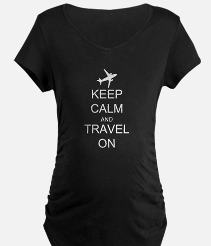 Keep Calm and Travel On Air T-Shirt
