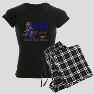 RA Hope Matters 3 Women's Dark Pajamas