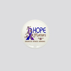 RA Hope Matters 3 Mini Button