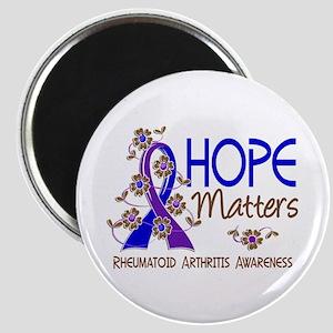 RA Hope Matters 3 Magnet