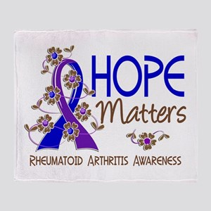 RA Hope Matters 3 Throw Blanket