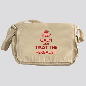 Keep Calm and Trust the Herbalist Messenger Bag
