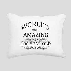 World's Most Amazing 100 Rectangular Canvas Pillow