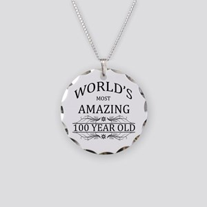 World's Most Amazing 100 Yea Necklace Circle Charm