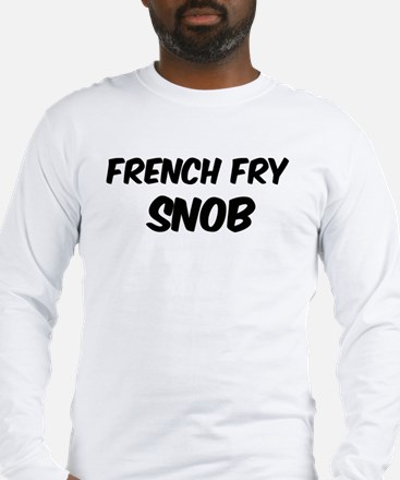 French Fry Long Sleeve T-Shirt