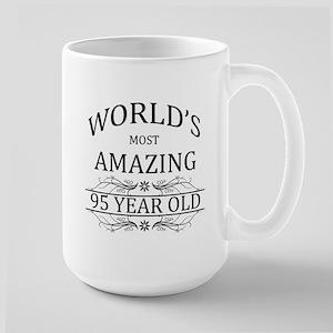 World's Most Amazing 95 Year Old Large Mug