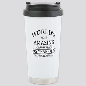 World's Most Amazing 95 Stainless Steel Travel Mug