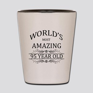 World's Most Amazing 95 Year Old Shot Glass
