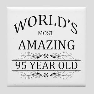World's Most Amazing 95 Year Old Tile Coaster