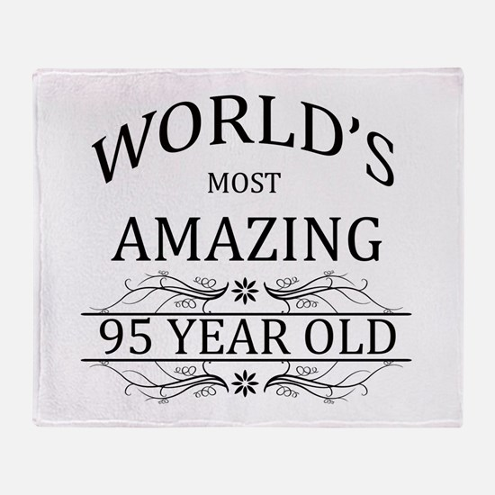 World's Most Amazing 95 Year Old Throw Blanket