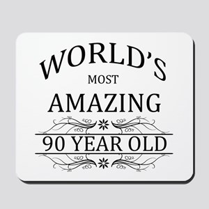 World's Most Amazing 90 Year Old Mousepad