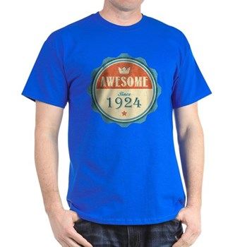 Awesome Since 1924 Dark T-Shirt