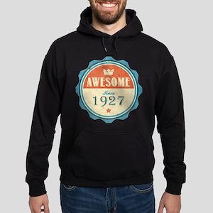 Awesome Since 1927 Dark Hoodie