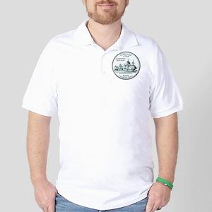 Virginia State Quarter Golf Shirt