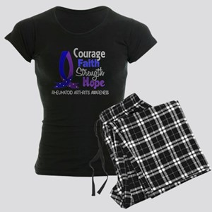 RA Courage Faith 1 Women's Dark Pajamas
