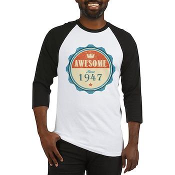 Awesome Since 1947 Baseball Jersey