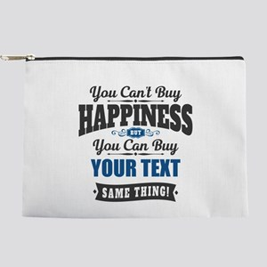 Custom Happiness Makeup Pouch