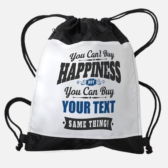 Custom Happiness Drawstring Bag