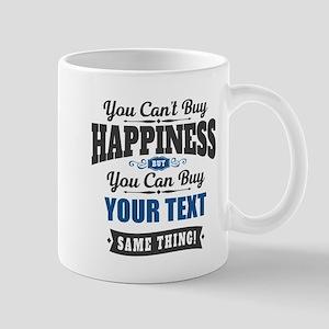 Custom Happiness 11 oz Ceramic Mug