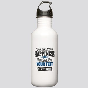 Custom Happiness Stainless Water Bottle 1.0L