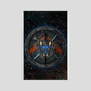 Spartan Diasporan Republic Emblem Rectangle Magnet