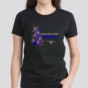 RA Awareness 6 Women's Dark T-Shirt