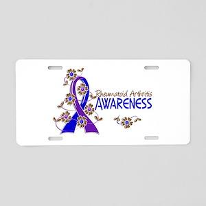 RA Awareness 6 Aluminum License Plate