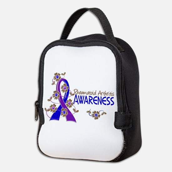 RA Awareness 6 Neoprene Lunch Bag