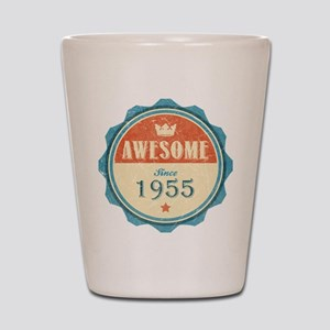 Awesome Since 1955 Shot Glass