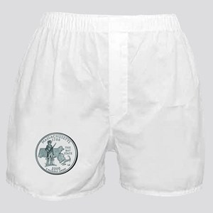 Massachusetts State Quarter Boxer Shorts