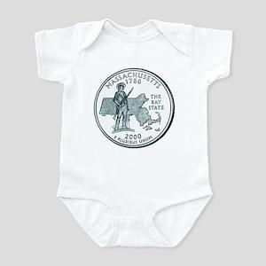 Massachusetts State Quarter Infant Creeper