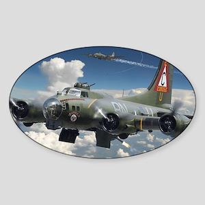 B-17 SUPERFORTRESS Sticker (Oval)