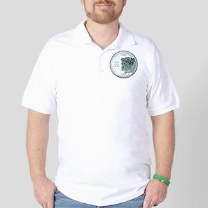 New Hampshire State Quarter Golf Shirt