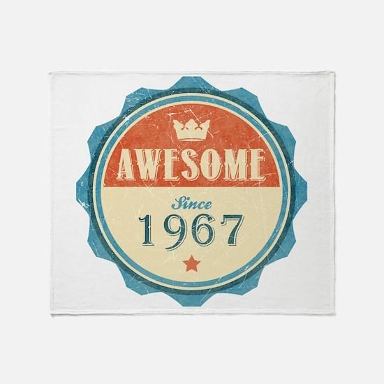 Awesome Since 1967 Stadium Blanket