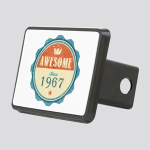 Awesome Since 1967 Rectangular Hitch Cover