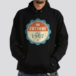 Awesome Since 1967 Dark Hoodie