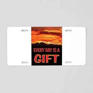 GIFT Aluminum License Plate