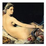 Odalisque knitting Square Car Magnet 3