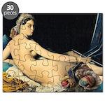 Odalisque knitting Puzzle