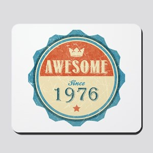 Awesome Since 1976 Mousepad